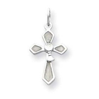 Sterling Silver Chalis Cross Charm Jewelry