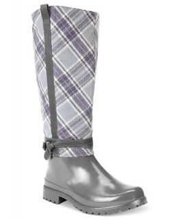 Sperry Top Sider Womens Everham Tall Rain Boots   Shoes