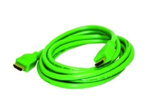 Steren BL 526 209GR High Speed HDMI Audio/Video Gaming Cable 1080p (9 feet, Green) Electronics