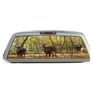 Buck Woods  22 Inches by 65 Inches  Rear Window Graphics Automotive
