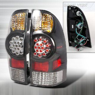2005 2007 Toyota Tacoma Led Tail Lights Black Automotive