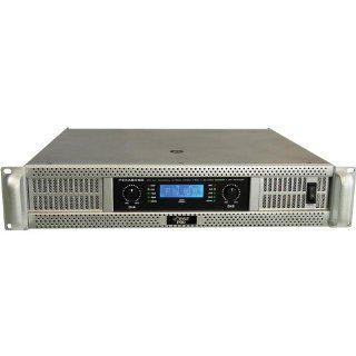 Pyle Pro PEXA8000 19'' Rack Mount 8000 Watts Professional Power Amplifier w/ Digital SMT Technology Musical Instruments