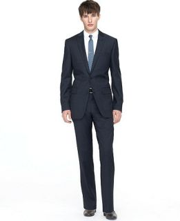 Bar III Suit Dark Blue Pindot Slim Fit   Suits & Suit Separates   Men
