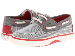 Sperry Top Sider Kids Halyard Jr. Boys Shoes (Gray)
