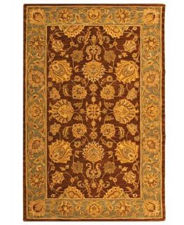 MANUFACTURERS CLOSEOUT Safavieh Area Rug, Heritage HG343J Brown 6 x 9   Rugs