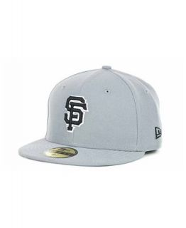 New Era Kids San Francisco Giants MLB Gray Black and White 59FIFTY   Sports Fan Shop By Lids   Men
