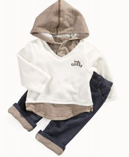 GUESS Baby Set, Baby Boys Hoodie and Pants   Kids