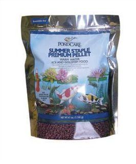 Pondcare Summer Staple Koi Fish Food Premium Pellet, 41 Ounce (Discontinued by Manufacturer) Patio, Lawn & Garden