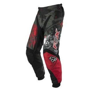 Fox Racing Youth 180 Pants   2007   22/Black/Red Automotive