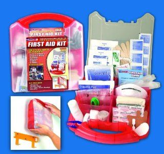 183 Piece First Aid Kit Health & Personal Care