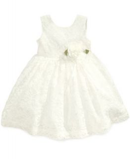 Bonnie Baby Baby Girls Matte Satin Flower Girl Dress   Kids
