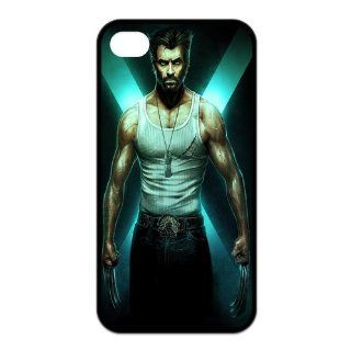 Alicefancy X men Personalized Design TPU Torrific Movie Cover Case For Iphone 4 / 4s YQC10807 Cell Phones & Accessories