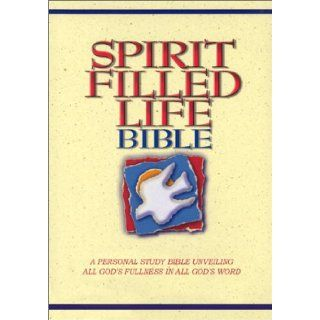Spirit Filled Life Bible  New King James Version   a Personal Study Bible Unveiling All God's Fullness in All God's Word Jack W. Hayford 9780785202073 Books