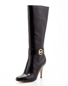 MICHAEL Michael Kors  Caroline Leather Knee Boot