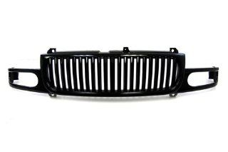 00 06 GMC Denali Yukon XL Black Vertical Front Grille Grill 01 02 03 04 05 Automotive