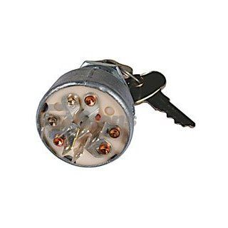 Stens 430 128 Starter Switch Replaces John Deere TCA15075 Great Dane TCA15075 John Deere AM101561 Great Dane AM101561  Lawn Mower Key Switches  Patio, Lawn & Garden