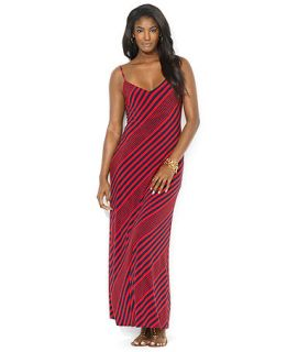 Lauren Ralph Lauren Sleeveless Striped Maxi Dress   Dresses   Women