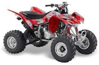 AMR Racing Honda TRX 400EX 2008 2011 ATV Quad Graphic Kit   T Bomber Red Automotive