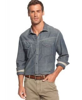 Tommy Bahama Big and Tall Shirt, James Deanum Long Sleeve Shirt   Casual Button Down Shirts   Men