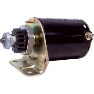 Electric Replacement Starter — Briggs & Stratton Single Cylinder Engine  Electric Start Motors