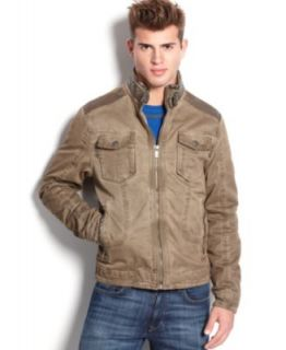 X Ray Jacket, Faux Leather Jacket   Coats & Jackets   Men