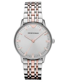 Emporio Armani Watch, Womens Two Tone Stainless Steel Bracelet 32mm AR1603   Watches   Jewelry & Watches