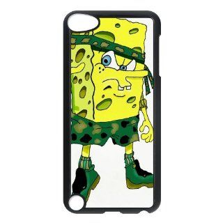 Personalized Music Case SpongeBob SquarePants iPod Touch 5th Case Durable Plastic Hard Case for Ipod Touch 5th Generation IT5SS136   Players & Accessories
