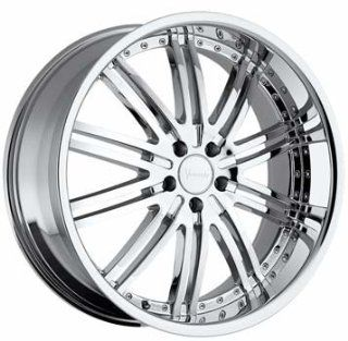 "24"" Wheels Rims Versante Ve212 24x9.5 Chrome 5 Lug GMC Infiniti Lexus Nissan Toyota SUV Wheels 5x135 5x139.7 Automotive"