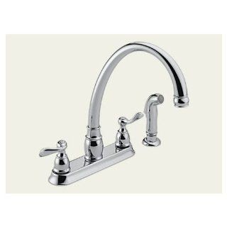 "DELTA/PEERLESS FAUCET CO. P99596 ""PEERLESS 2 HANDLE KITCHEN FAUCET   Touch On Kitchen Sink Faucets"