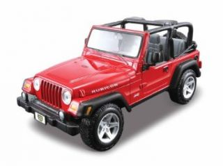 Maisto 127 AL Jeep Wrangler Rubicon Assembly Line Model Kit Toys & Games