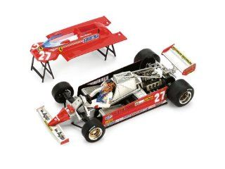 Ferrari 126CK Turbo Gilles Villeneuve #27   1st Place Grand Prix Monaco 1981   1/43rd Scale Brumm Plus Super Series Toys & Games