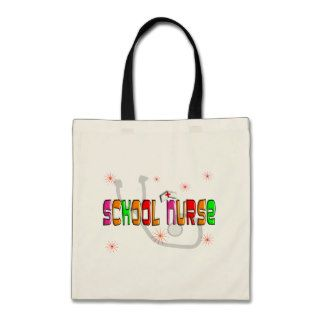 School Nurse Gifts & T Shirts Canvas Bags