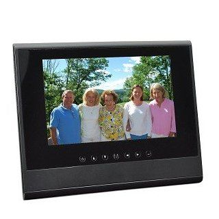 "7"" RZDF 107U 1GB 800x480 Digital Photo Frame (Black)   Also Use As A Secondary LCD Monitor  Digital Picture Frames  Camera & Photo"