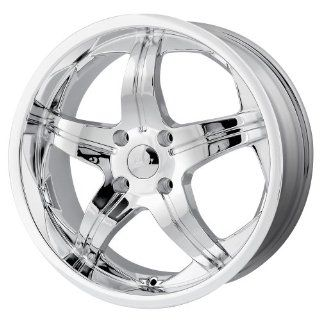 18x7.5 MPW Style MP107 (Chrome) Wheels/Rims 5x114.3 (MP107 8765C) Automotive