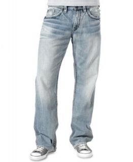 Silver Jeans Denim, Zac Flap Relaxed Fit Straight Leg Jean   Jeans   Men