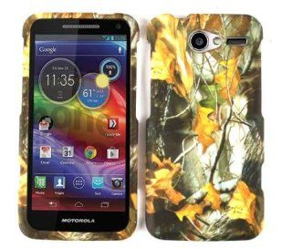 Motorola Electrify M XT901 Camo/Camouflage Hunter Series, w/ Dry Leaves Mossy Hard Case/Cover/Snap On/Housing/Protector/U. S. Cellular Cell Phones & Accessories