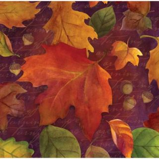 Club Pack of 192 Thanksgiving Fall Leaves Harvest 3 Ply Party Beverage Napkins Christmas Decor