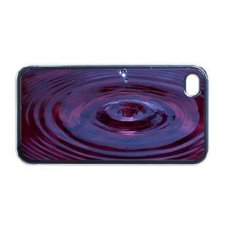 Water Droplet Apple PLASTIC iPhone 5 Case / Cover Verizon or At&T Phone Great Gift Idea Cell Phones & Accessories