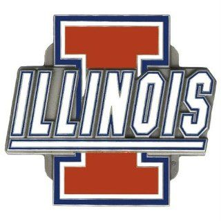 Illinois Fighting Illini NCAA Logo Hitch Cover  Sports Related Merchandise  Sports & Outdoors