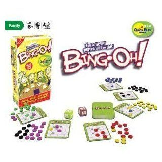 Bing Oh Family Fun Game   You've never played Bingo like this  Bingo Sets  Sports & Outdoors
