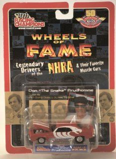 "Racing Champions Wheels of Fame Don ""The Snake"" Prudhomme 1969 Chevy Camaro Street Machine Toys & Games"
