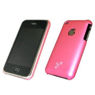 Premium Custom Apple iPhone 3G, 3Gs Stealth Cover Polycarbonate Shell Hard Case, Magenta Pink Cell Phones & Accessories