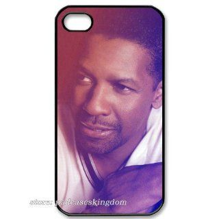 iPhone 4th/4s hard cover case with handsome Denzel Washington Jr logo for fans designed by padcaseskingdom Cell Phones & Accessories