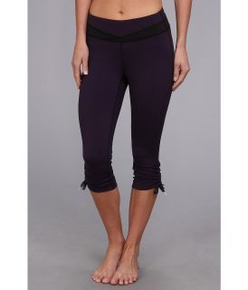 Lucy Hatha Convertible Capri Legging Womens Capri (Purple)