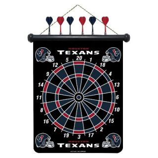 Rico NFL Houston Texans Magnetic Dart Board Set