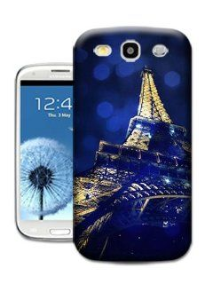 Bradley's Shop Blue Moon with Eiffel Tower Shell Cover for Girls  Print TPU Phone Protector Cover forSAMSUNG GALAXY S3 Cell Phones & Accessories