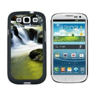 Mossy Stream Waterfall Ireland Snap On Hard Protective Case for Samsung Galaxy S3   Black Cell Phones & Accessories