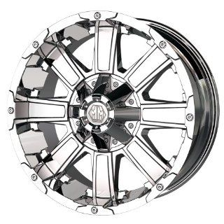 "Mayhem Chaos 8030 Chrome Wheel (20x12""/8x180mm) Automotive"