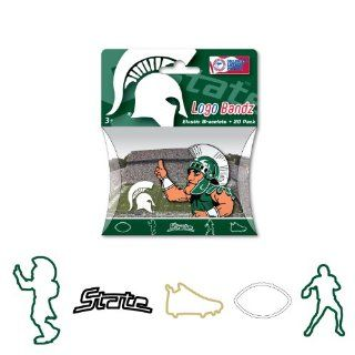 Forever Collectibles NCAA Michigan State Spartans Michigan State Logo Bandz Bracelets 2nd Version Sports & Outdoors
