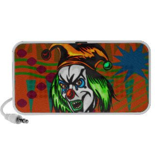 Mentally Insane Evil Clown Portable Speaker